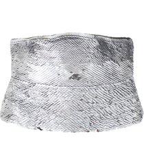 fish scale sequin belt