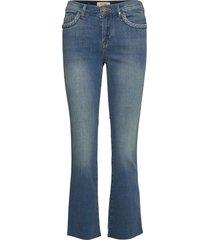 ashley braid jeans jeans utsvängda blå mos mosh
