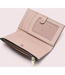 kate spade new york women's spencer small slim bifold wallet - black