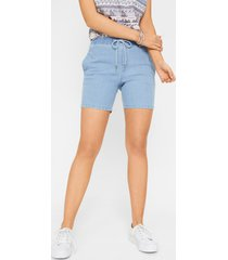 jeans short met stretch