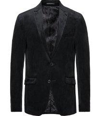 velvet blazer blazer colbert zwart lindbergh