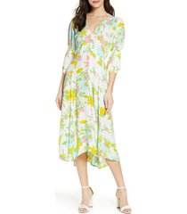 women's faithfull the brand maud floral midi dress