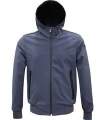 thermo bonded jacket hood