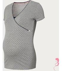 noppies zwangerschapspyjamashirt / voedingsshirt emma