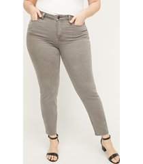 the grey twill jegging