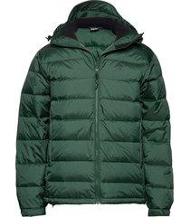 edzo down jacket gevoerd jack groen 8848 altitude
