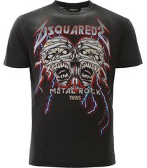 dsquared2 metal rock t-shirt