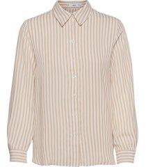basic långärmad skjorta rosa mango