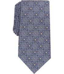 tasso elba men's soana medallion silk necktie, created for macy's