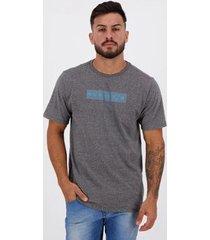 camiseta hurley silk circle dye grafite mescla - masculino