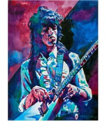 "david lloyd glover keith richards a rolling stone canvas art - 37"" x 49"""