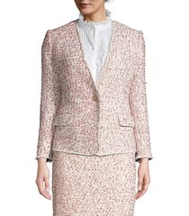 rebecca taylor women's tweed jacket - size 10