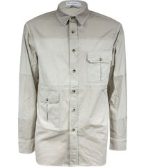 j.w. anderson double flap pocket shirt