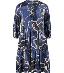 klänning cushania leaf dress