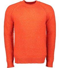 dstrezzed pullover - slim fit - oranje