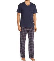 men's nordstrom pajamas, size large - blue