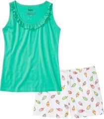 pigiama estivo (verde) - bpc bonprix collection