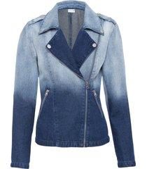 giacca di jeans in cotone biologico (blu) - bodyflirt