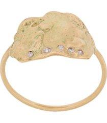 pascale monvoisin anel izia n1 de ouro amarelo 9k - dourado