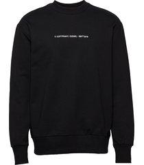 s-bay-copy sweat-shirt sweat-shirt trui zwart diesel men