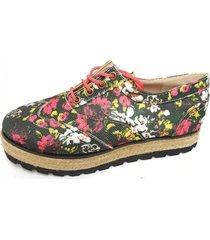 zapato negro corre lola flores
