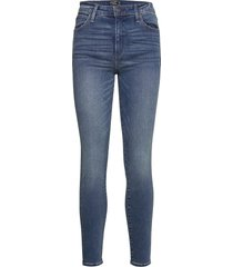 anf womens jeans skinny jeans blå abercrombie & fitch