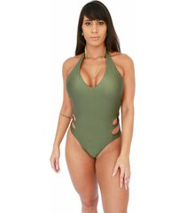 maiã´ corpusfit seduction - verde militar - verde militar - feminino - poliamida - dafiti