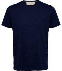 t-shirt slhjared slub ss o-neck tee w