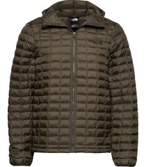 m tbll eco hdie fodrad jacka grön the north face