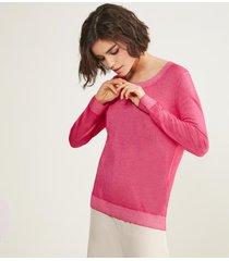 maglia girocollo cashmere