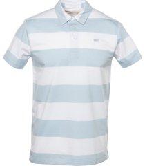 levi's men's striped polo shirt