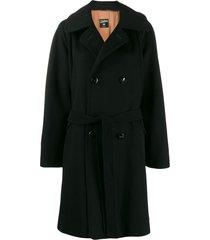 jean paul gaultier pre-owned 1990's wide-sleeve coat - black