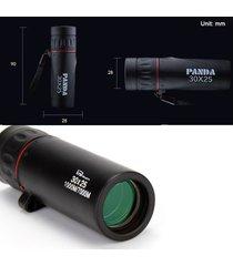 telescopio monocular hd zoom de enfoque caza óptica