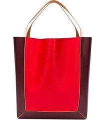 marni bolsa tiracolo color block - vermelho