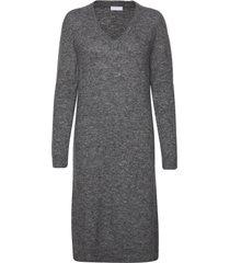 2nd cozy jurk knielengte grijs 2ndday