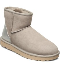 w classicmini ii met shoes boots ankle boots ankle boot - flat creme ugg