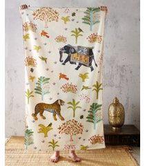 john robshaw masai mara reversible beach towel bedding