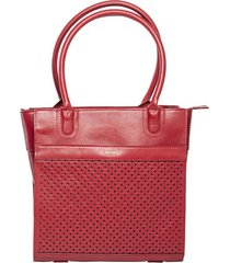 bolso lerisse rojo bosi