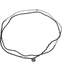 ambush charm braided necklace