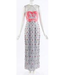 erdem floral lace beaded maxi dress