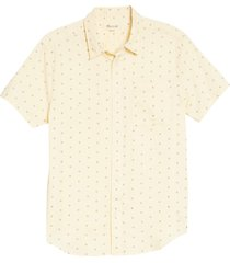 men's madewell perfect short sleeve shirt