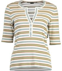 ophelie striped henley top