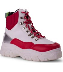 wanted caution extreme sneaker bootie women's shoes