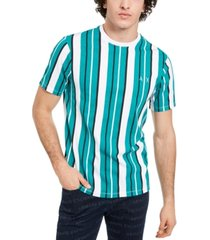 ax armani exchange men's all over vertical stripe t-shirt
