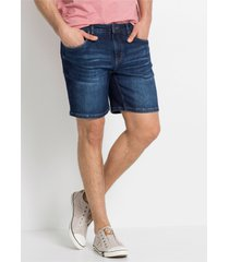 slim fit power stretch jeans short