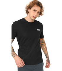 camiseta ...lost logo preta - preto - masculino - dafiti