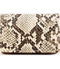 betty snap metal card case - beige
