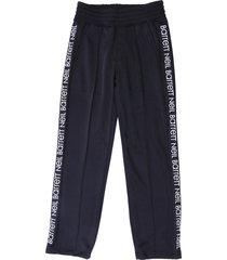neil barrett black acetate pants