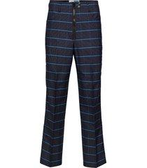 trousers special kostymbyxor formella byxor blå kenzo