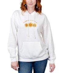 rebellious one juniors' always grateful graphic hoodie